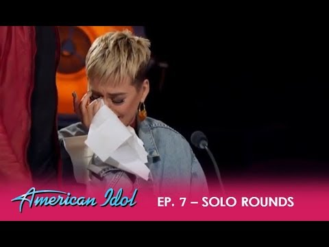 Katy Perry WEEPS Over 'Idol' Contestant LOVER Trevor Holmes - Real or Fake Tears?