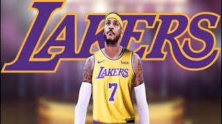 "Ramona Shelburne Says Only Way Carmelo Anthony End Up With Lakers Is If Lebron ""Pushes That Issue"""