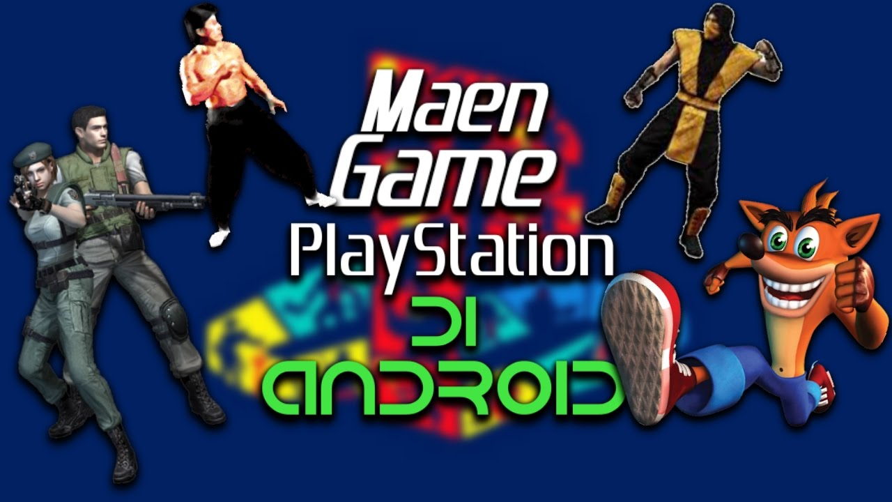 (TUTORIAL) Cara Memainkan Game Ps1 Di android + Cara ...