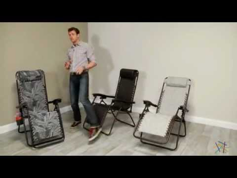 Modern Mesh Zero Gravity Lounge Chair - Product Review Video