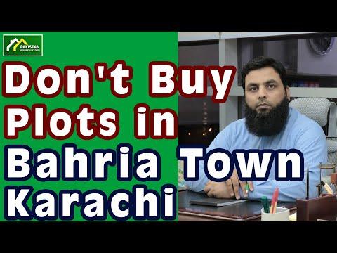 Don't Buy Plots in Bahria Town Karachi