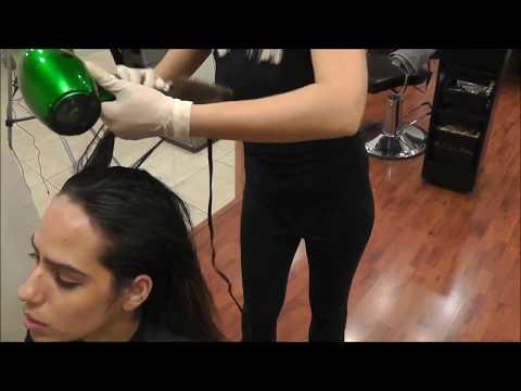 Keratin Hair treatment How to Instructional Video, Express formula