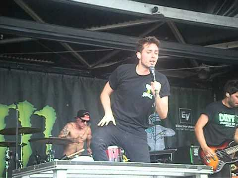 The Consequence - You Me At Six  - Buffalo Warped Tour 2012