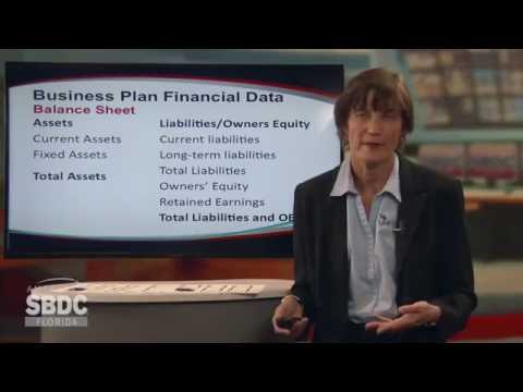 Florida SBDC Access to Capital Training Series: Business Plan Financial Data (3 of 6)