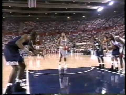 03/20/1994 NCAA Midwest Regional 2nd Round: #9 Georgetown Hoyas vs.  #1 Arkansas Razorbacks
