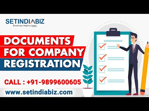 Documents For Company Registration