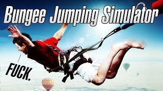 BJ SIMULATOR - Bungee Jumping Simulator - Let's Play / Gameplay / Review