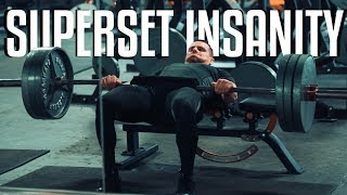 I want this more than anything... | Grueling leg day SUPERSETS (Full Workout)