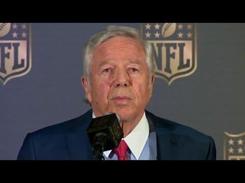 Kraft: I reluctantly accept Deflategate punishment