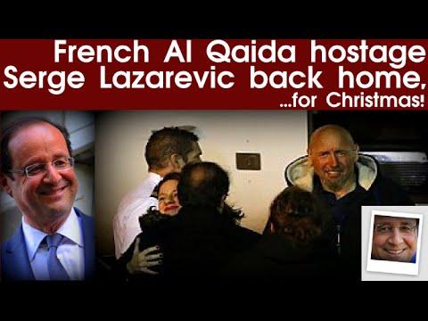 French al Qaida hostage Serge Lazarevic back home