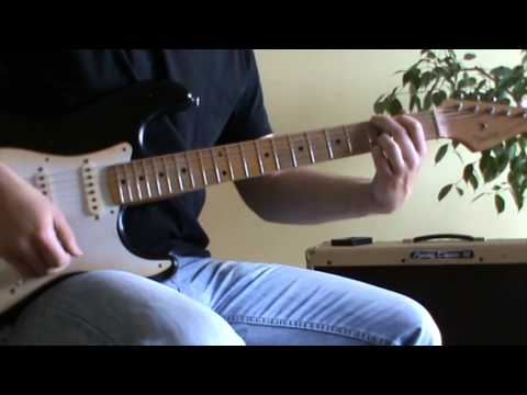 Travis Tritt Here's A Quarter(call someone who cares) solo + TAB (guitar lesson)