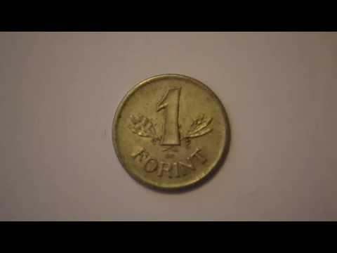 One Hungarian Forint 1989 metal