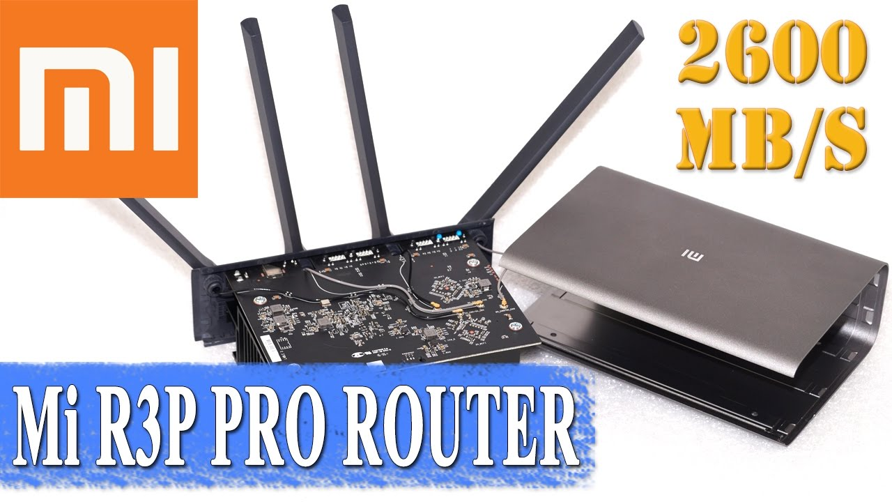 Review of Xiaomi Mi router R3P Pro – tests, disassembly and tuning
