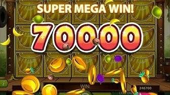 Go Bananas - NEW SLOT MACHINE - Mega Win