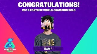I secretly won the fortnite world cup