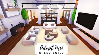 Party House  Modern Rosy Home Speed Build (Part 1)  Roblox Adopt Me!