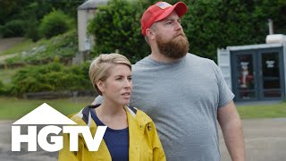 Road To Takeover Episode 4: Renovating Company Street | Home Town Takeover | HGTV