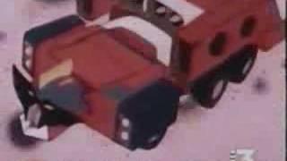 La trasformazione dei mitici robot della serie ginguiser.
