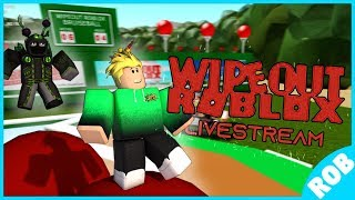 🔴Live: WIPEOUT ROBLOX - S7 E7 - (Teams Episode!)