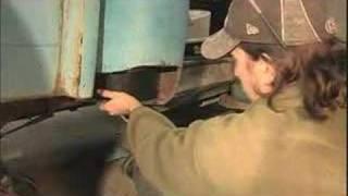 Kelle's '54 Chevy Truck Blog #8: Cab Corners V8TV-Video