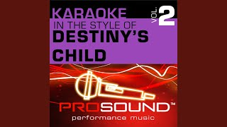 Say My Name (Karaoke With Background Vocals) (In the style of Destiny's Child)