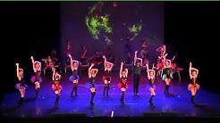 Modern' jazz burlesque  chorégraphie Nadine marquet centre kdance leguevin