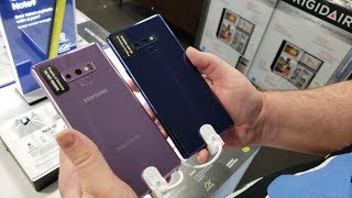 Note 9 512GB Ocean Blue Most Popular | Note 9 T-Mobile Software Update Available
