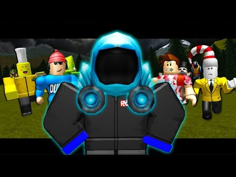 YOUTUBERS HUNT THE BLUE GUEST (A Roblox Movie w/ Poke, Tofuu, Ant)