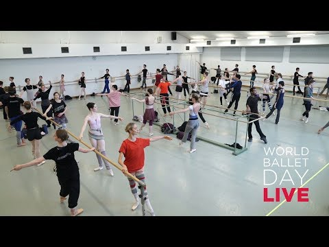 World Ballet Day 2019 LIVE class with the Bayerisches Staatsballett
