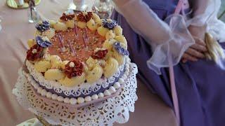 라푼젤 빈티지 케이크 만들기! 베이킹 왕초보가 만드는 …