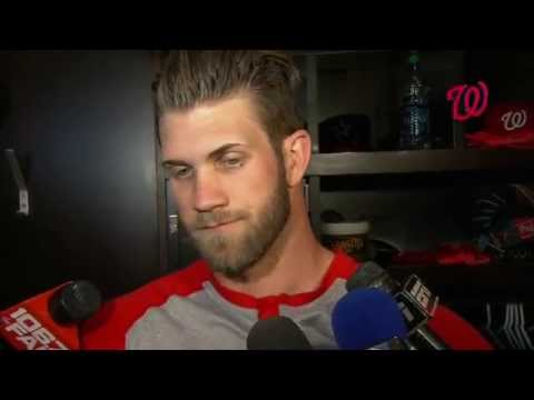 Bryce Harper and Mike Trout share their thoughts on playing head-to-head