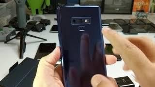 فتح صندوق سامسونج جالكسي نوت ناين Galaxy Note 9 Unboxing