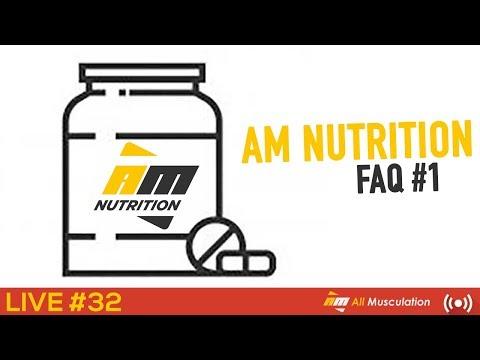 AM Nutrition - FAQ#1 - Live #33