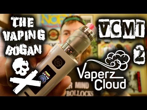 VCMT2 RTA | Vaperz Cloud | + Coil & Wick Install | High Wattage Tank | The Vaping Bogan
