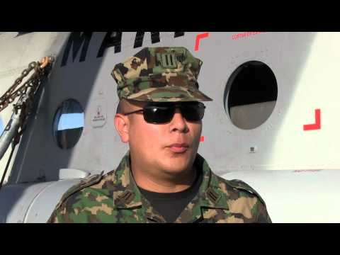 Interview with Mexican Marine on board ARM Usumacinta