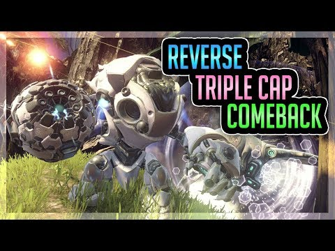 Incredible Reverse Triple Cap Comeback Against Protag's Team & Alts - Halo 5 Warzone