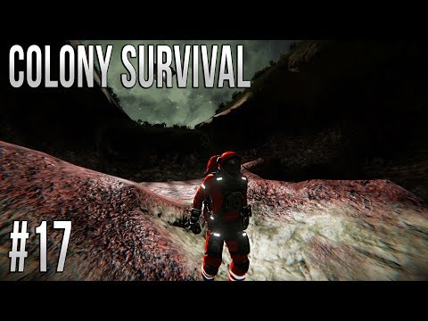 Space Engineers - Colony Survival Ep #17 - Secret Base!