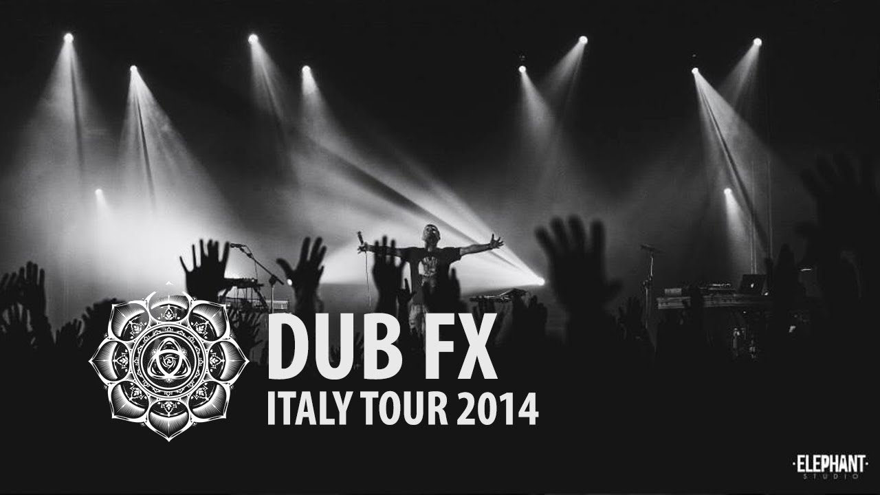 Dub Fx, CAde, Andy V - Dub Fx Italy Tour 2014 Documentary