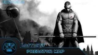 Batman Arkham City - L๐st City Extreme - As Robin - Predator Map 11 - 2.54.22