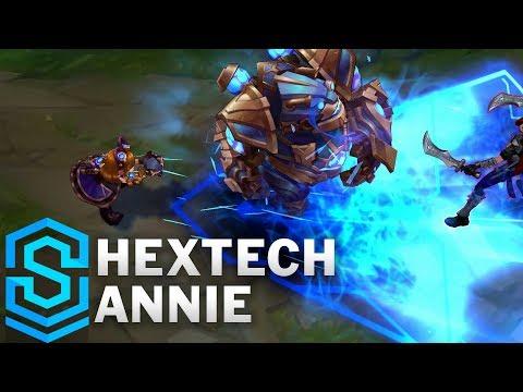 Hextech Annie (2020) Skin Spotlight - League of Legends