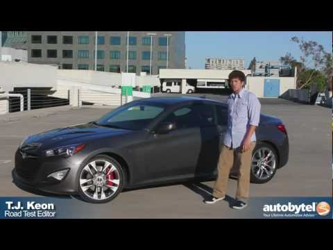 2013 Hyundai Genesis Coupe 3.8 R Spec Test Drive Sport Compact Car Review