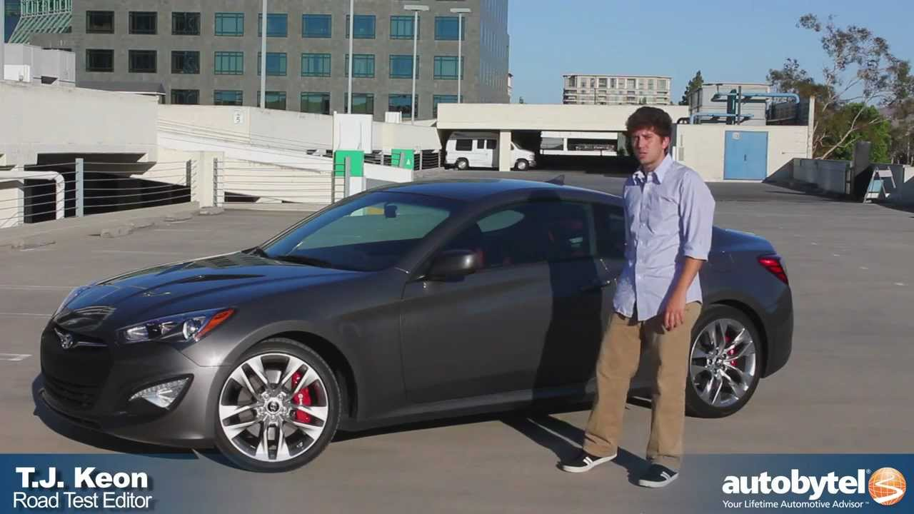 medium resolution of 2013 hyundai genesis coupe 3 8 r spec test drive sport compact car review youtube