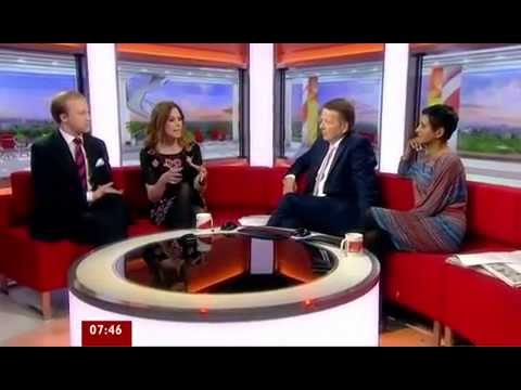 BBC Breakfast - Queuing Etiquette - Discussion with William Hanson and Emma Kenny