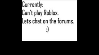 Can't Join Roblox??? I Have No Idea