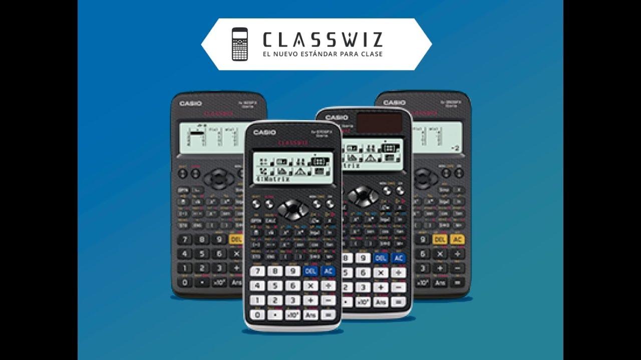 29317620590b Características de la calculadora ClassWiz. Calculadoras CASIO