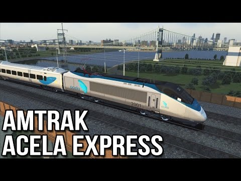 TS2015 - New York to New Haven (Amtrak Acela Express)