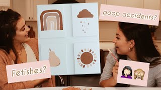 chatty q&a paint with us // fetishes, poop accidents & more!