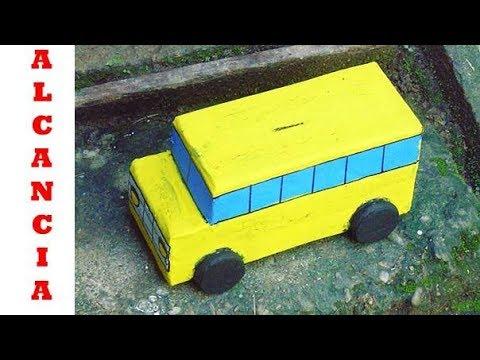 Como Hacer Un Carro De Carton How To Make A Cardboard Cart Youtube