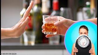 살을 빼기 위해 음주를 포기해야 하는가?