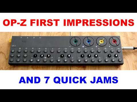 Teenage Engineering OP-Z jam and review - 3 days, 7 patterns, and first impressions